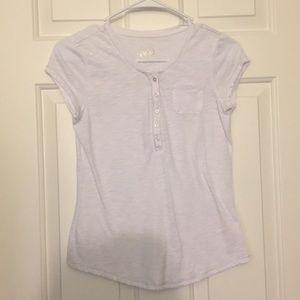 Thin white T-shirt